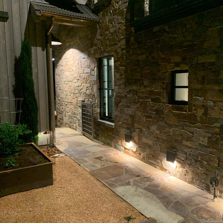 Custom Home Side Yard Napa Calif