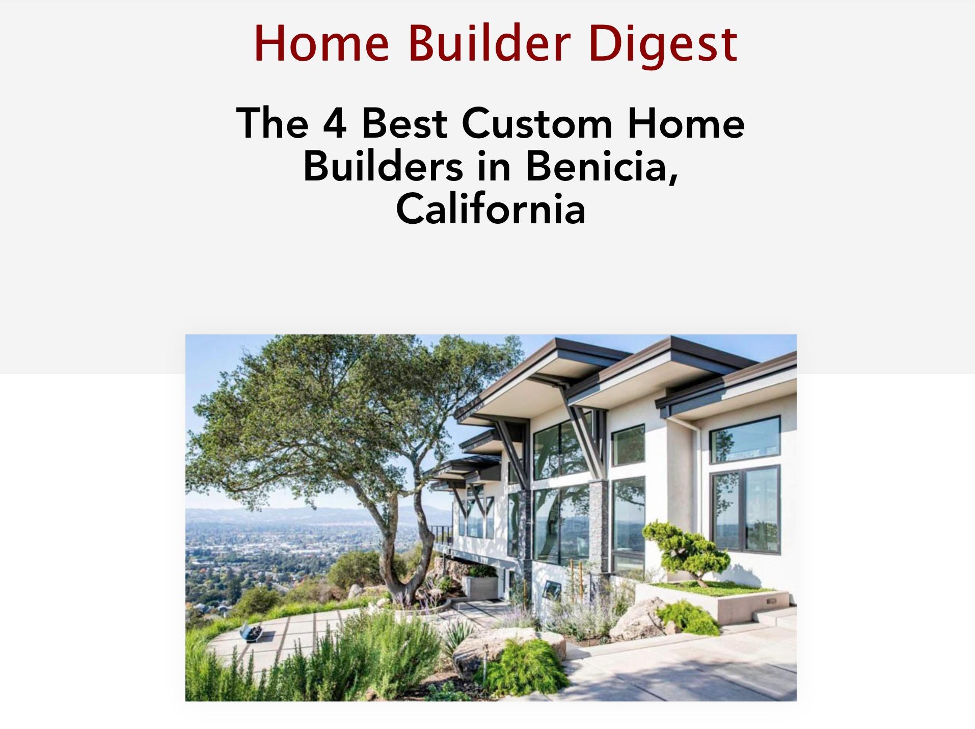 CRC Builders Home Builder Digest